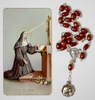 Chapelet de Sainte Rita + carte + pri�re